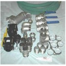 316L Stainless Steel Plumbing Package for Dual Recirculation