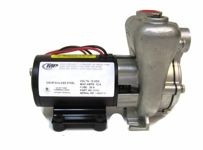 MP 12 Volt Stainless Transfer Pump