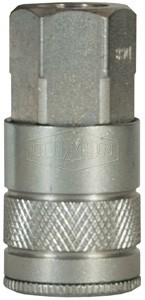 "1/2"" FPT Steel Socket with Shut Off"