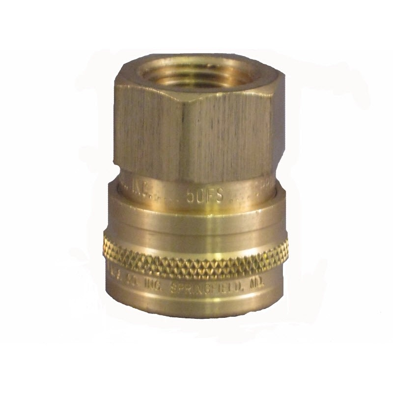 "3/8"" Brass Socket  Viton"
