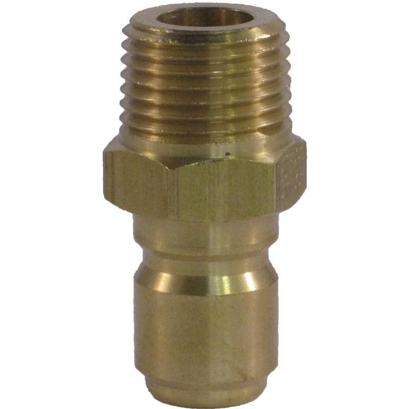"""3/8"""" MPT Brass Plug"""