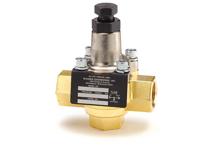 Wanner Hydra Cell C23 50-500 PSI Pressure Regulator