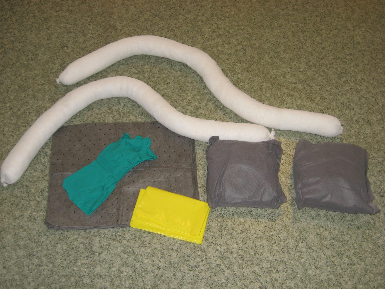 Clear Bag Spill Kit