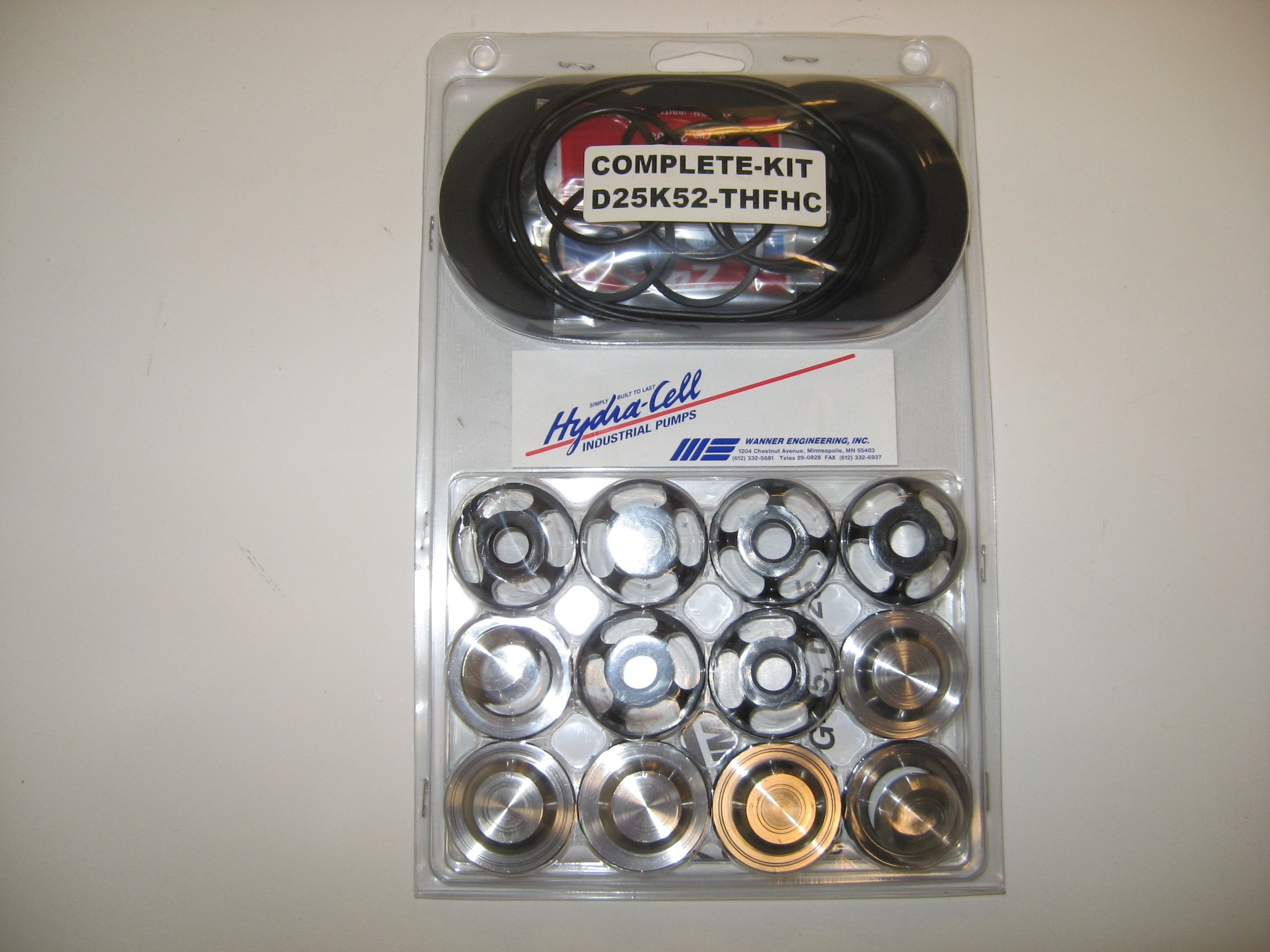 Hydra-Cell H25 Complete Fluid End Repair Kit