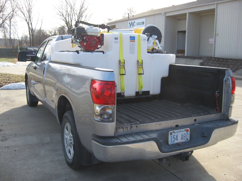 400 Gallon Space Saver Sprayer