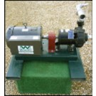 Teflon Coated Bulk Herbicide Pump without meter, 304SS Impeller, EPDM Seals, 10 hp, Three Phase