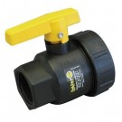 Banjo Single Union Poly Ball Valves